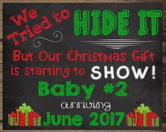 Christmas Pregnancy Announcement, Christmas Baby, announcement, maternity, gift, Pregnancy reveal christmas, pregnancy chalkboard, santa, Pregnancy Reveal, christmas Pregnancy, pregnancy announcement, pregnancy chalkboard, maternity photo prop, pregnancy photo prop, christmas chalkboard, winter announcement, announcement sign, holiday pregnancy, christmas photo prop, baby announcement, we're expecting, baby number two, baby number 2, third