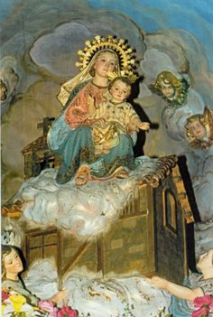 Madonna di Loreto con casetta
