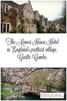 Manor House Hotel  Castle Combe  England  England's prettiest village  Exclusive Hotels Group  Afternoon Tea  Great Britain  UK