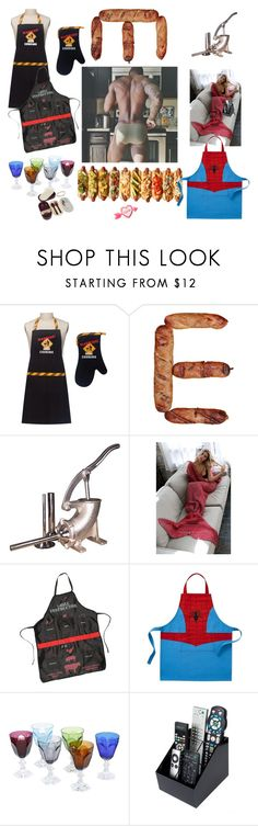 """""""Man at work - man cooking"""" by didesi ❤ liked on Polyvore featuring Weston, Wembley, Williams-Sonoma, Mario Luca Giusti, Celebrate Shop, men's fashion and menswear"""