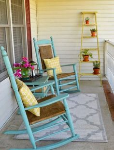60 awesome farmhouse porch rocking chairs decoration (30)