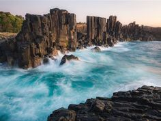 SCENIC: Bombo Headlands Quarry, between Kiama and Kiama Downs.