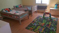 Découvrez le lit superposé 1,2,3 lin de Guillaume   #Chambre #enfant #france #bio #bois
