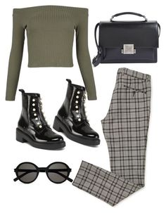 """Untitled #5609"" by lilaclynn ❤ liked on Polyvore featuring WithChic, Yves Saint Laurent, YSL, saintlaurent and yvessaintlaurent"