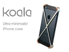 Ultra minimalist case for the iPhone 5/5s & 6. Part bumper, part case, Koala provides drop protection with an aluminum unibody design.