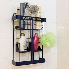 Doctor Who TARDIS Shower Rack (USA)