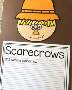 Scarecrow Craft With Writing Prompts/Pages