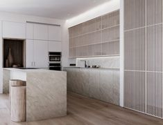 'Natural' is a 86 sq. contemporary apartment concept with a calm soft-toned interior. This apartment… Home Interior, Modern Interior Design, Kitchen Interior, Kitchen Design, Interior Designing, Contemporary Interior, Luxury Interior, Home Design, Nordic Design
