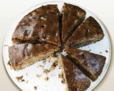 Packed full of cinnamon, crunchy walnut and caramel flavourings - Rachel Allen's glazed cake will keep nicely for a week (if you resist gobbling it all at once!)