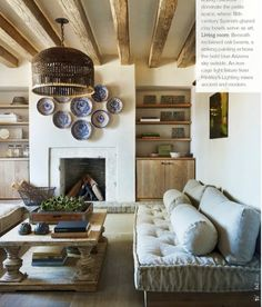Arizona home designed by David Michael Miller: organic, muted palette harmonious with the natural landscape outside.