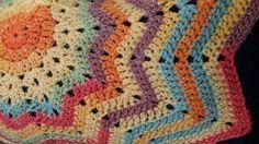 Grace's Star Crochet Blanket pattern by Pennyslaneuk on Etsy