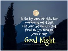 Goodnight quotes Holiday Messages, Greetings and Wishes - Messages, Wordings and Gift Ideas