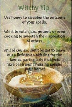 Book Of Shadows, Magick, Honey, Jar, Vegetables, Fruit, Cooking, Tips, Spiritual