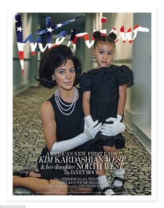 See Kim Kardashian as Jackie O in Interview Magazine Kim Kardashian And North, Kardashian Family, Kardashian Style, Kardashian Jenner, Kim Kardashian Photoshoot, Jennifer Lawrence Hot, Michelle Obama Fashion, Doja Cat, Interview