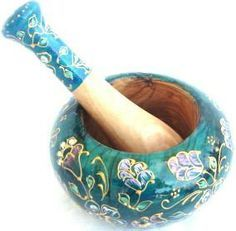 Decorative Mortar and Pestle Day Work, Mortar And Pestle, Wooden Bowls, Food And Drink, Pharmacy Technician, Wiccan, Apothecary, Cookware, Google Search