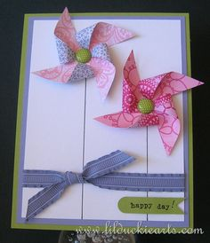 Happy Day Pinwheels