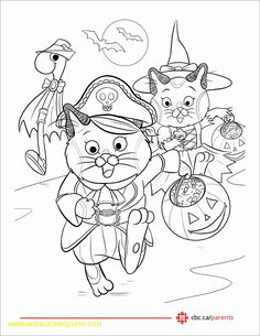 ad5ea06c8 Cute Halloween Coloring Printable For Kids - ScribbleFun