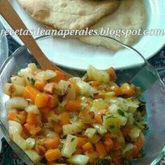 Blog sobre recetas de Ana Perales sencillas y asequibles para todos Salsa, Ethnic Recipes, Food, Onion, Salads, Pear Trees, Ethnic Food, Meals, Healthy Recipes