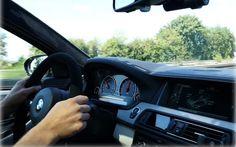 Заряженный седан BMW M5 с выхлопом от Akrapovic