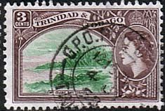 Trinidad and Tobago 1953 Mount Irvin Bay Fine Used                    SG 269 Scott 74 Other West Indies and British Commonwealth Stamps HERE!