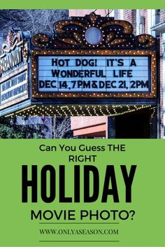 Can you guess what holiday movie is showing based just on the photos? Take a quick look for some fun holiday trivia! http://onlyaseason.com/2015/12/mystery-photos-of-a-christmas-movie-watchlist/