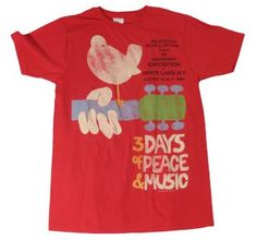Woodstock Upstate '69 T-Shirt  Product # FE6N103  $19.99  http://www.t-shirts.com/woodstock-upstate-tshirt.html