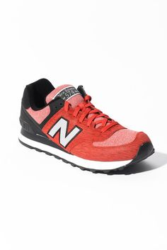 New Balance 574 Sweatshirt Red Sneakers | South Moon Under