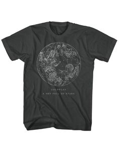 Coldplay Sky Full Of Stars Mens Premium Soft T-Shirt - Guaranteed Authentic.  Fast Shipping.