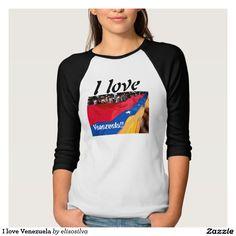 I love Venezuela Camisetas