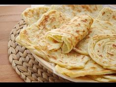 Msemmen Recipe - Moroccan crepe - CookingWithAlia - Episode 26 - YouTube