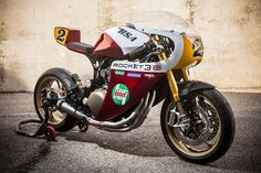 "Triumph Legend TT 900 Racer ""Rocket III"" by XTR Pepo"