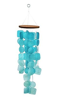 Exquisit Turquoise Capiz Windchime Capiz Shell Blue Tinte... https://www.amazon.com/dp/B01N9DTG96/ref=cm_sw_r_pi_dp_x_Yc8FybRHFAJWR
