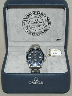 Omega Seamaster Professional (James Bond 40th Anniversary Special Edition) by numbphoto, via Flickr
