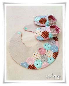 reversible patchwork baby giftset by hoyoyi.ng, via Flickr
