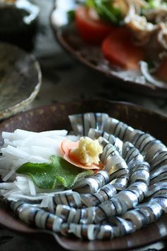 sashimi of fresh branded blue-sprat / puchipanie daily