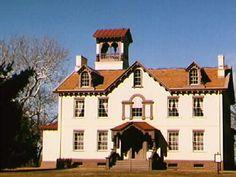 """President Martin Van Buren's Home, Kinderhook, NY """"Lindenwald"""""""