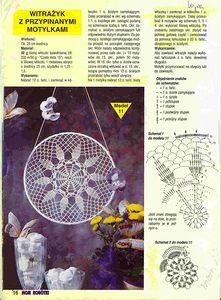 "Photo from album ""Moje robotki on Yandex. Crochet Doily Diagram, Crochet Chart, Thread Crochet, Crochet Motif, Crochet Designs, Crochet Doilies, Crochet Patterns, Crochet Home, Diy Crochet"
