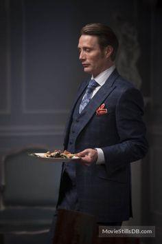 Hannibal - Season 1 publicity still of Mads Mikkelsen Hannibal Lecter, Hannibal Suit, Nbc Hannibal, Mads Mikkelsen, Hannibal Tv Series, Hannibal Characters, Hugh Dancy, Beautiful Boys, Gorgeous Men