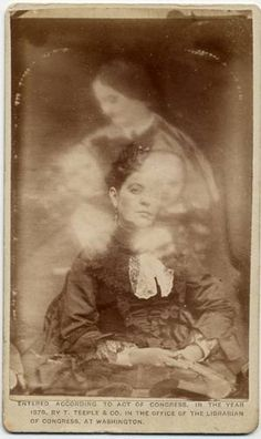 """Victorian Spirit Photography 