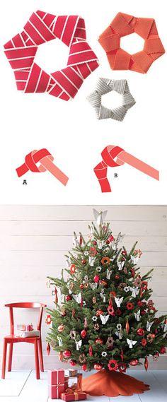 diy christmas tree decoration