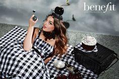Benefit Cosmetics Ad - Jamie Nelson