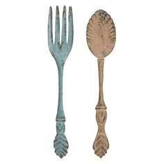 Fork and Spoon Wall Decor.