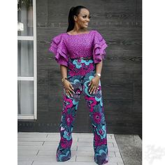 Rock the Latest Ankara Jumpsuit Styles these ankara jumpsuit styles and designs are the classiest in the fashion world today. try these Latest Ankara Jumpsuit Styles 2018 African American Fashion, Latest African Fashion Dresses, African Print Dresses, African Print Fashion, African Dress, Ankara Fashion, African Prints, African Jumpsuit, Ankara Jumpsuit