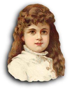 Victorian Scrap — Younger Girl   (386×502)