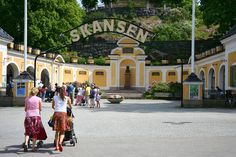 The world's oldest open-air museum. Includes a zoo that showcases animals native to Scandinavia.