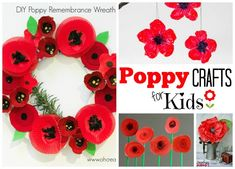 poppy-crafts-for-kids Gorgeous DIY Poppy Suncatchers for Preschoolers and older kids. A great Remembrance Day Activity, that looks beautiful too. We love Poppy Crafts for kids. Poppy Craft For Kids, Easy Crafts For Kids, Toddler Crafts, Preschool Crafts, Remembrance Day Activities, Remembrance Day Poppy, Paper Plate Poppy Craft, Memorial Day Poppies, Easy Origami Star