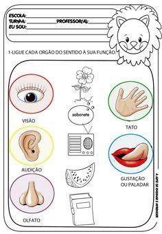 Preschool Worksheets, Preschool Activities, 5 Senses Worksheet, Five Senses Preschool, Special Education Activities, Coping Skills, Interactive Notebooks, Pre School, Teaching