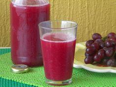 Suco de uva integral feito em casa #homemade #sucosaudável
