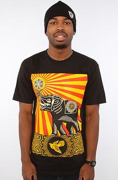 f8a0e106 The Peace Elephant Basic Tee in Black by Obey Latest Mens Fashion,  Streetwear Fashion,