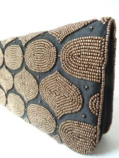 3ce58e8bcbca3 Beaded Evening Bag Mosaic On Silk Satin. Embroidery BagsBeaded ClutchSilk  ...